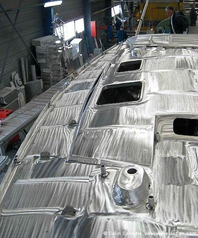 Traditional sailboat design, boat building software aluminum