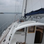The Boreal 44 is crisp to windward