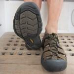 Grippy Keen sandals