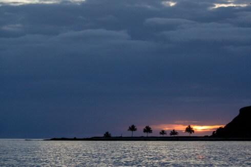 Deserted anchorage, Abrolhos archipelago