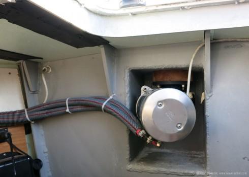 Watertight bulkhead detail
