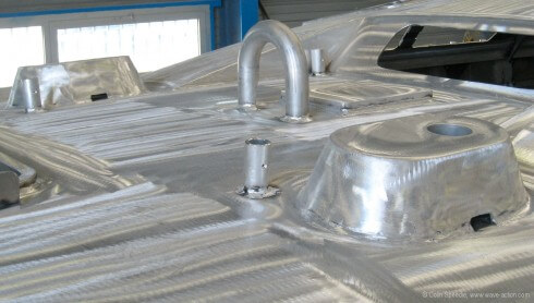 At all costs minimize or eliminate drilled holes –weld everything