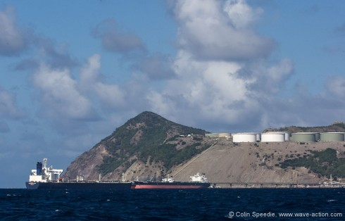 The business end of Statia