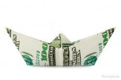 Ship made of money
