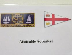 Colin's Attendance Badge