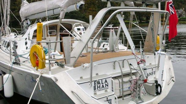 """Eala Bhan"" Sails Home—The Maiden Voyage of The Boréal 55"