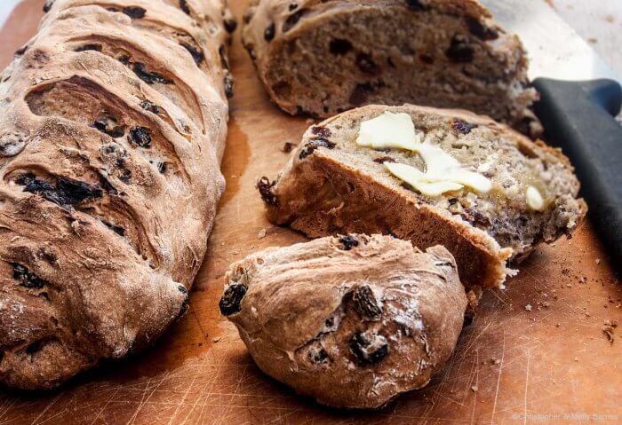 13- Use---Homemade raisin bread