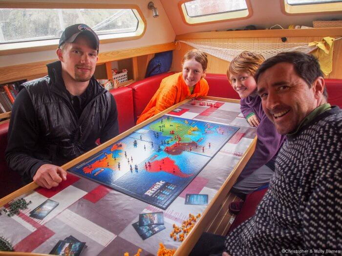 Game of Risk in South Georgia.