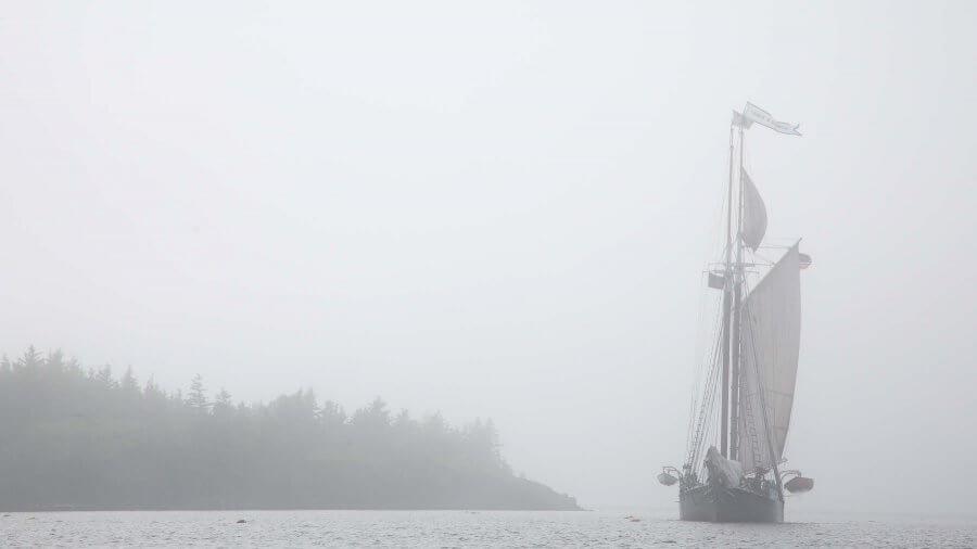 Navigation in Fog, Part 3—Underway